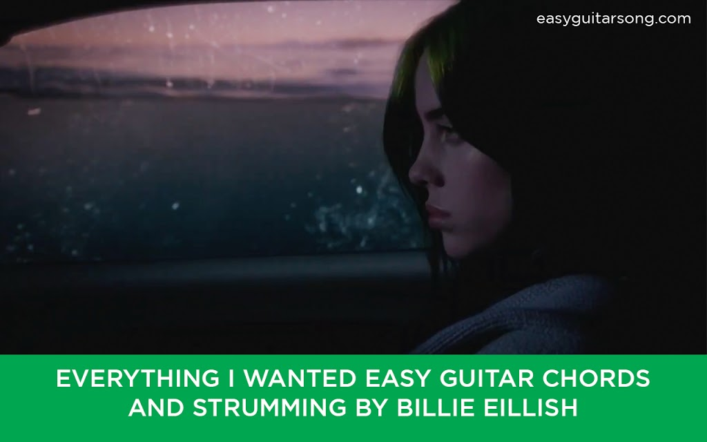 Everything i wanted Easy Guitar Chords and strumming